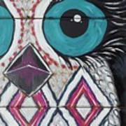 Aztec Owly Poster