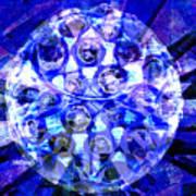 Azure Orb Of Midas Poster