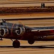 B-17 Bomber Poster
