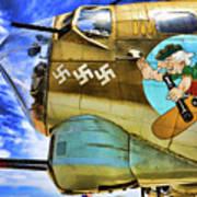 B-17 Paint  Poster