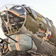 B-17 Texas Raiders Poster