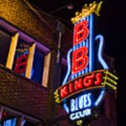 B B Kings On Beale Street Poster