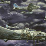 B17 Bomber Poster