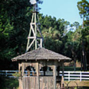 Babcock Wilderness Ranch - Windmill Poster