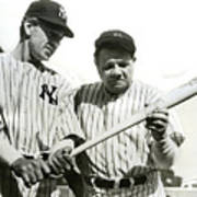 Babe Ruth And Lou Gehrig Poster