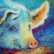 Baby Blues Piggy Poster