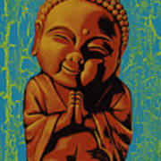 Baby Buddha Poster