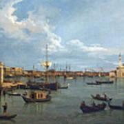 Bacino Di San Marco From Canale Della Giudecca Poster