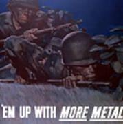 Back 'em Up -- Ww2 Poster