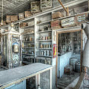 Back In 5 - The General Store, Bodie Ghost Town Poster