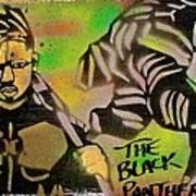 Back Panther Street Art #2 Poster