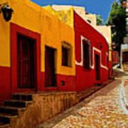 Back Street Guanajuato Poster