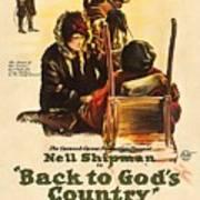 Back To God's Country 1919 Poster