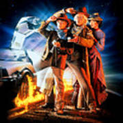 Back To The Future Part IIi 1990 Poster