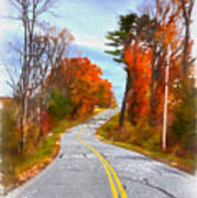 Backroads Vermont Poster