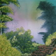 Backwoods Mist Poster
