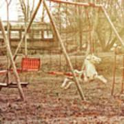 Backyard Play Poster
