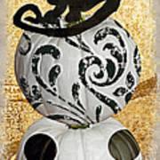 Bad Cat Halloween Poster