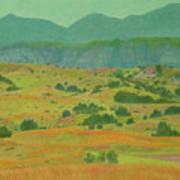 Badlands Grandeur Poster