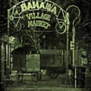 Bahama Village Market Key West Florida Poster
