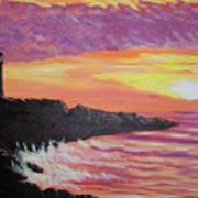 Bahia At Sunset Poster