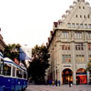 Bahnhofstrasse Zurich Poster