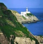 Baily Lighthouse, Howth, Co Dublin Poster