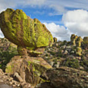 Balanced Rock Formation Poster