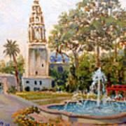 Balboa Park Tower Poster