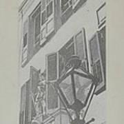 Balcony Railings Poster