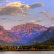 Baldy Shadow Mountain Lake Poster