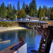 Balfour Bc Docks And Ferry  Poster