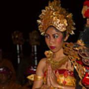 Balinese Dancer Poster