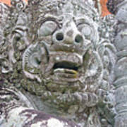 Balinese Temple Guardian Poster
