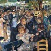 Ball At The Moulin De La Galette 1876 Poster