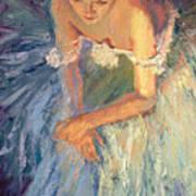 Ballerina Resting Poster