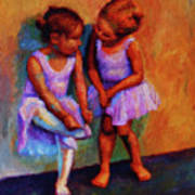 Ballerina Secrets Poster by Jeanne Young
