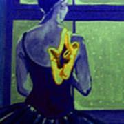 Ballerine En Hiver Poster