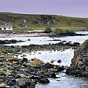 Ballintoy Cottage Poster