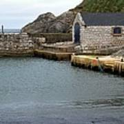 Ballintoy Quayside Poster