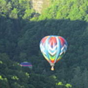 Balloons Over Letchworth Poster
