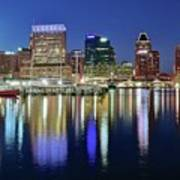 Baltimore Blue Hour Poster