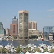 Baltimore Waterfront Poster