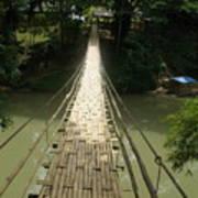 Bamboo Bridge Poster