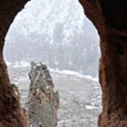 Bandelier Indian Ruins Poster