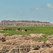 Badlands Panorama Poster