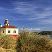 Bandon Coquille River Lighthouse Poster