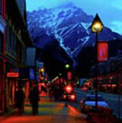 Banff At Twilight Poster