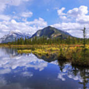 Banff Reflection Poster