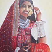 Banjaran With Traditional Attire Poster